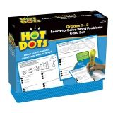 HOT DOTS LEARN TO SOLVE WORD  PROBLEM SET GR 1-3