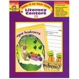 Take It to Your Seat Literacy Centers Book, Grades 1-3