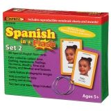 Spanish in a Flash� Set 2