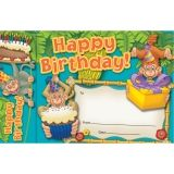 HAPPY BIRTHDAY MONKEYS BOOKMARK  AWARDS