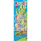 SEUSS - OH THE PLACES YOULL GO BOOK  MARK