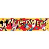 MICKEY WELCOME CLASSROOM BANNER