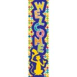 Dr. Seuss Spot on Seuss Welcome Banners - Vertical