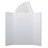"Corrugated Project Boards & Headers Set, 36"" x 48"", White"