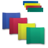 "Corrugated Project Boards & Headers Set, 36"" x 48"", Assorted Colors"