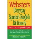 WEBSTERS EVERYDAY SPANISH ENGLISH  DICTIONARY