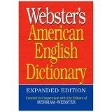 WEBSTER AMERICAN ENGLISH DICTIONARY