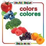 COLORS BOARD BOOK BILINGUAL SPANISH  ENGLISH