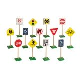 "7"" Traffic Signs, 13/Pack"