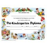 "Pre-Kindergarten Diploma, 8.5"" x 11"", Pack of 30"