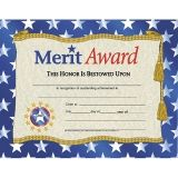 Merit Award Certificates, 30ct