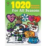 Reward Sticker for All Seasons, Pack of 1020