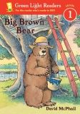 GREEN LIGHT READERS BIG BROWN BEAR  LEVEL 1