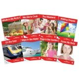 Fantails Book Banded Readers, Red Non-Fiction, Levels B-D
