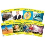 Fantails Book Banded Readers, Yellow Non-Fiction, Levels C-F