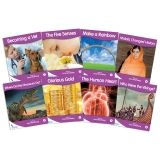 Fantails Book Banded Readers, Purple Non-Fiction, Levels K-M