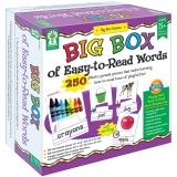 BIG BOX OF EASY TO READ WORDS GAME  AGE 5+ SPECIAL EDUCATION
