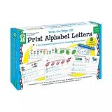 Print Alphabet Letters Manipulative, Write-on/Wipe-off