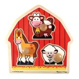 Barnyard Animals Jumbo Knob