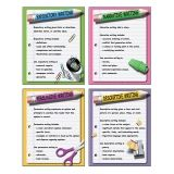 FOUR TYPES OF WRITING TEACHING  POSTER SET