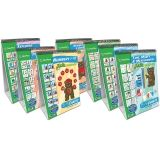 Math Readiness Curriculum Mastery Flip Charts, Set of 7
