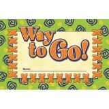 INCENTIVE PUNCH CARDS WAY TO GO  36/PK