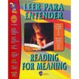 Leer para Entender/Reading for Meaning, Grades 1-3
