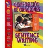 COMPOSICION DE ORACIONES  SENTENCE WRITING