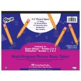Pacon Multi-Program Handwriting Tablet, DNealian Grades 1-3 / Zaner-Bloser Grade 2