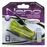inJOY 12 Nano Stapler, Green/Black