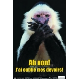 "French Fun Photo Posters Set #5, 12"" x 18"", Set of 4"