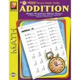 EASY TIMED MATH DRILLS ADDITION