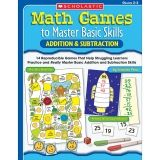MATH GAMES TO MASTER BASIC SKILLS  ADDITION & SUBTRACTION