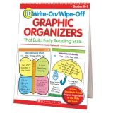 10 WRITE-ON/WIPE-OFF GRAPHIC  ORGANIZERS THAT BUILD READNG SKILL