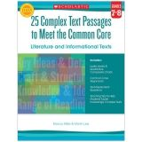 GR 7-8 25 COMPLEX TEXT PASSAGES TO  MEET THE CC LITERATURE & INFO TEXT