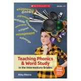 Teaching Phonics & Word Study in the Intermediate Grades Book, 2nd Edition