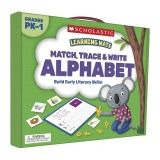 Learning Mats: Match, Trace & Write the Alphabet for Grades PreK-1