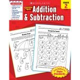 SCHOLASTIC SUCCESS WITH ADDITION &  SUBTRACTION GR 2