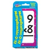 Multiplication/Multiplicaci�n (EN/SP) Pocket Flash Cards