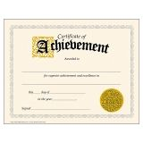 Certificate of Achievement Classic Certificates, 30 ct