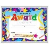 Certificate of Award Colorful Classics Certificates, 30 ct