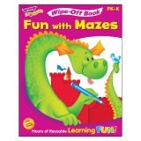 Fun with Mazes Wipe-Off Book, 28 pgs
