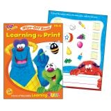 LEARNING TO PRINT FURRY FRIENDS  WIPE OFF BOOK GR PK-K