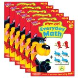 (6 EA) EVERYDAY MATH WIPE OFF BOOK GR PK-K