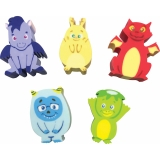 Whatsits Collectable Erasers Mystery Packs: Fantasy Friends