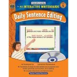 INTERACTIVE LEARNING GR 4 DAILY  SENTENCE EDITING BK W/CD