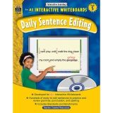 INTERACTIVE LEARNING GR 5 DAILY  SENTENCE EDITING BK W/CD