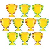 TROPHY CUPS ACCENTS 30/PK