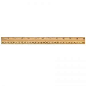 School Wood Ruler