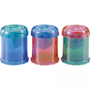 PENCIL SHARPENER 2 HOLE MANUAL  PLASTIC